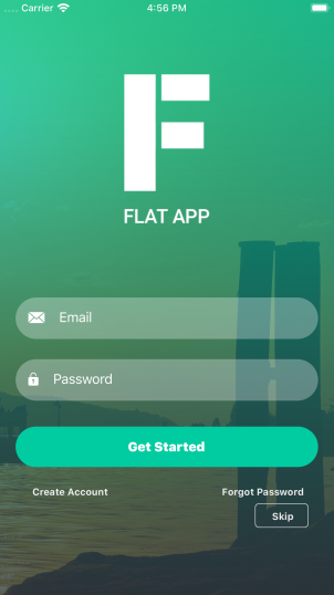 Vue Native Flat App Theme