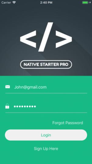 Vue Native Starter Pro